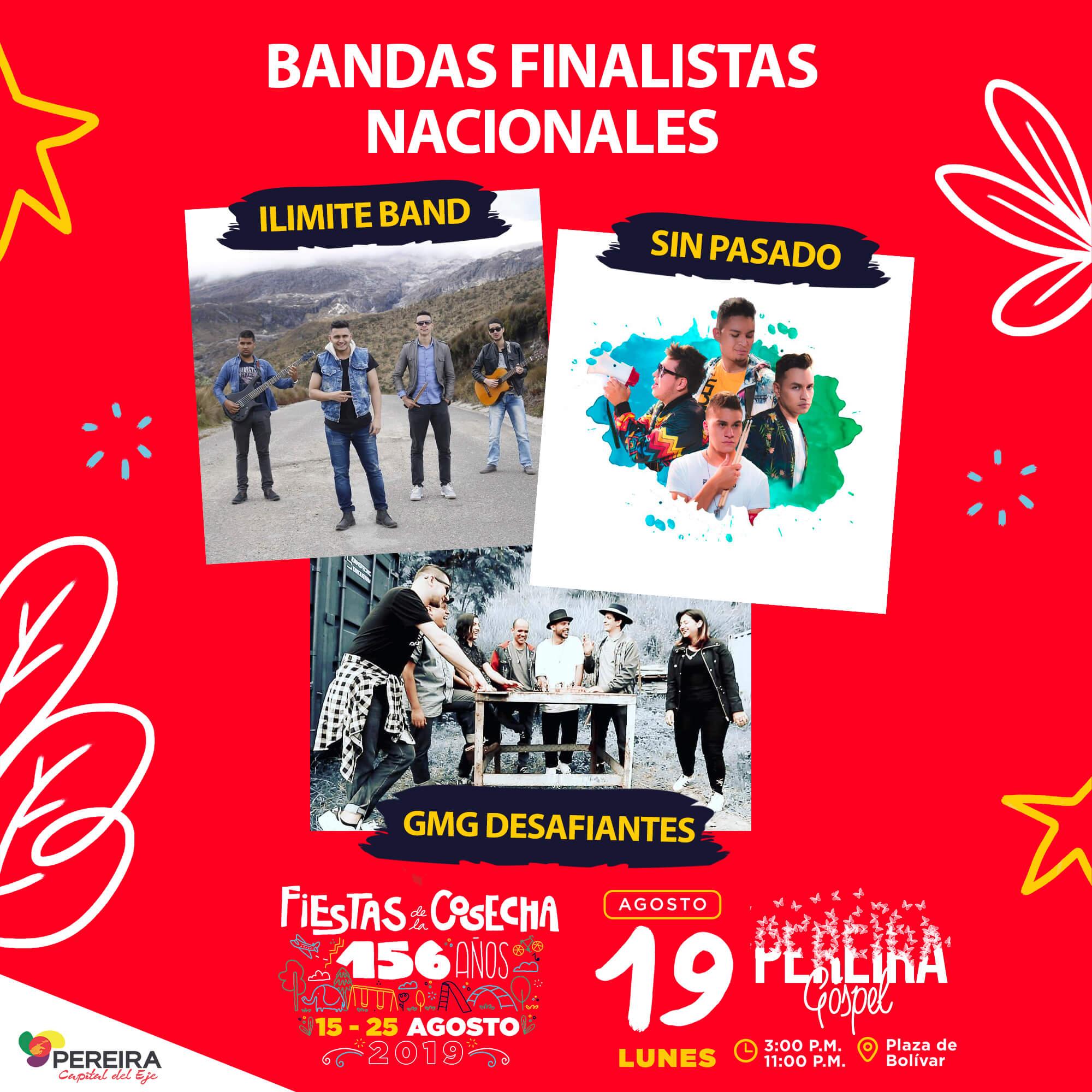 Bandas finalistas nacionales